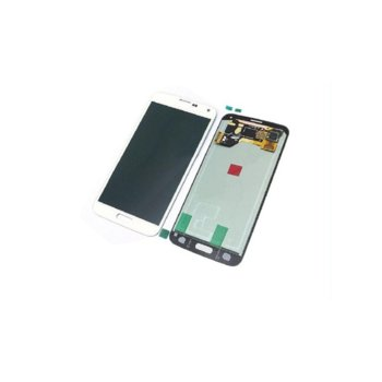 Дисплей за Samsung Galaxy S5 SM-G900F, LCD Original, бял image