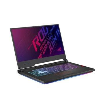 "Лаптоп Asus ROG Strix G G531GU-AL076 (90NR01J3-M10770), шестядрен Coffee Lake Intel Core i7-9750H 2.6/4.5 GHz, 15.6"" (39.62 cm) Full HD IPS Display & GTX 1660 Ti 6GB, (HDMI), 16GB DDR4, 1TB HDD & 512GB SSD, No OS image"
