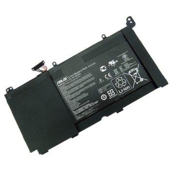 Батерия (оригинална) за лаптоп Asus, съвместима с K551LA/K551LB/K551LN/R553L/R553LF/R553LN, 11.4V, 48Wh image