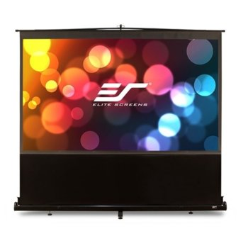"Екран Elite Screens F100NWV, на стойка, Black, 2032 x 1524 мм, 100"" (254 cm), 4:3 image"