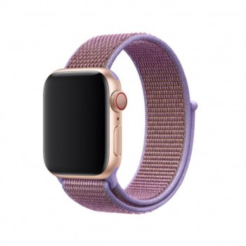 Каишка за смарт часовник Apple Watch (40mm) Lilac Sport Loop (Seasonal Spring2019), лилава image