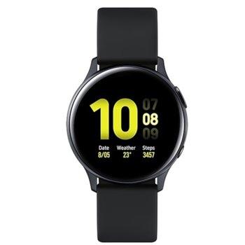 Смарт часовник Samsung Galaxy Watch Active2 SM-R830N (SM-R830NZKAATO), до 95 часа време за работа, алуминиев, черен image