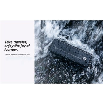 Тонколона Nillkin Traveler, 2.0, 10W, AUX, USB Type C, Bluetooth 5.0, черна, безжична, преносима, с вградена батерия image