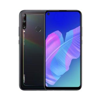 "Смартфон Huawei P40 Lite E (черен) поддържа 2 sim карти, 6.39"" (16.23 cm) HD+ TFT LCD (IPS) дисплей, осемядрен Kirin 710F 2.2GHz, 4GB RAM, 64GB Flash памет (+ microSD слот), 48.0 MP + 8.0 MP + 2.0 & 8.0 MP камера, Android, 176g image"