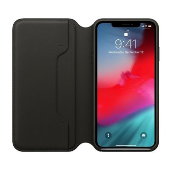 Apple iPhone XS Max Leather Folio - Black product