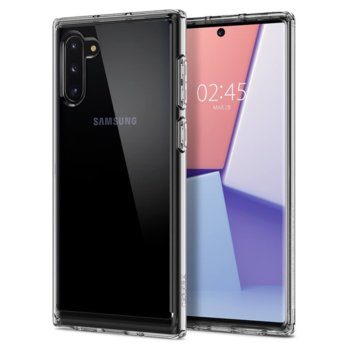 Калъф за Samsung Galaxy Note 10, хибриден, Spigen Crystal Hybrid 628CS27409, удароустойчив, прозрачен image