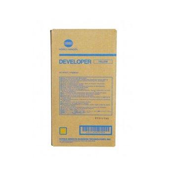 ДЕВЕЛОПЕР ЗА KONICA MINOLTA BIZHUB Pro C5500/C5501/C6500/C6501 - Yellow - DV610Y - P№ A04P700 - заб.: 200000k image