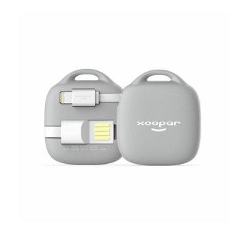 Външна батерия /power bank/ Xoopar Hug Booster, 500 mAh, сива image