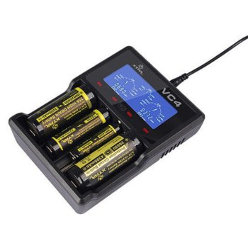 Зарядно устройство Xtar VC4 за Li-ion, Ni-Mh и Ni-Cd батерии image