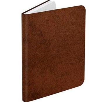 """Калъф за електронна книга BOOKEEN Classic - Denim Brown, за PocketBook Diva/Diva HD, 6"""" (15.24 cm), еко кожа, кафяв image"""