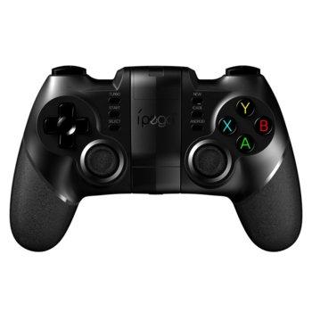 Геймпад iPega PG-9076, безжичен, Blueooth, Wi-Fi, USB, стойка съвместима със смартфони, съвместим с Android, iOS, Windows, Android TV-Box, черен image