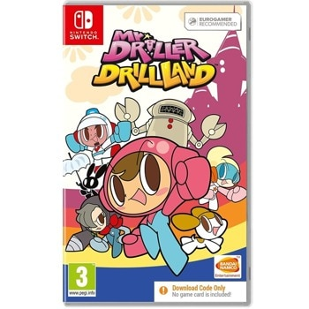 Mr. Driller DrillLand - Code in a Box Switch product