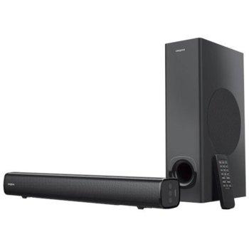 Soundbar система Creative Stage 2.1 (51MF8360AA002), 2.1 канална, Bluetooth, AUX, Optical Out, 160W RMS image