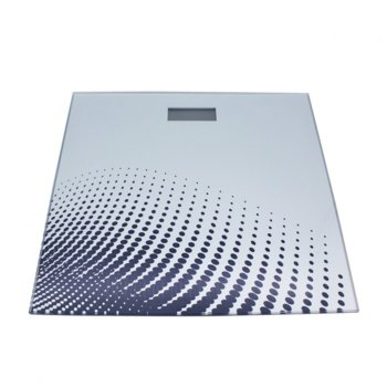 Цифров кантар Sapir SP 1650 ZC, капацитет до 180 кг, 6мм стъкло, сив/бял image