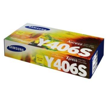 Касета за Samsung CLT-Y406S - SU462A - Yellow - заб.: 1 000k image