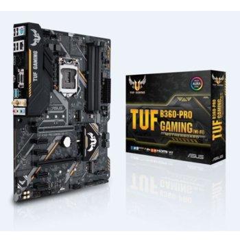 Дънна платка ASUS TUF B360-PRO GAMING (WI-FI) product