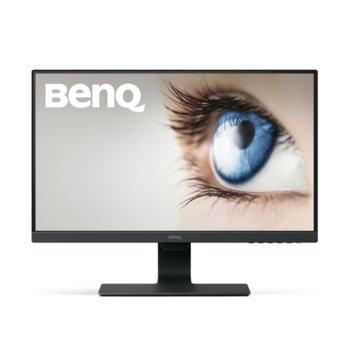 """Монитор BenQ GW2480 (9H.LGDLB.CBE), 23.8"""" (60.45 cm) IPS панел, Full HD, 5ms, 20,000,000 : 1, 250m2, DisplayPort, HDMI, VGA image"""