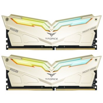 Памет 16GB (2x8GB) DDR4 3200 MHz, TeamGroup Night Hawk Legend, TF7D416G3200HC14ADC01 1.35V image