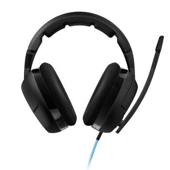 Слушалки ROCCAT Kave XTD Stereo, гейминг, микрофон, черни image