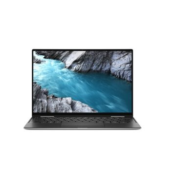 "Лаптоп Dell XPS 7390 (DXPS7390I716G512GBLUHD_WIN-14)(сребрист), четириядрен Ice Lake Intel Core i7-1065G7 1.3/3.9 GHz, 13.4"" (34.036 cm) Ultra HD/4K Anti-Glare Touchscreen Display, (Thunderbolt 3), 16GB DDR4, 512GB SSD, Windows 10 Pro image"