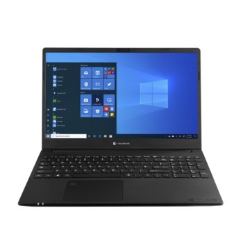 "Лаптоп Dynabook Toshiba Satellite Pro L50-G-13L (PBS12E-03D02CG6), шестядрен Comet Lake Intel Core i7-10710U 1.1/4.7 GHz, 15.6"" (39.62 cm) Full HD Anti-Glare Display, (HDMI), 8GB DDR4, 256GB SSD, 1x USB 3.1 Type-C, Windows 10 Home image"
