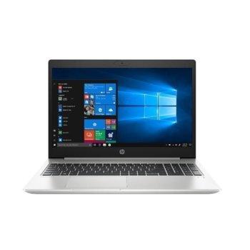 "Лаптоп HP ProBook 450 G7 (8MH13EA)(сребрист), четириядрен Comet Lake Intel Core i5-10210U 1.6/4.20 GHz, 15.6"" (39.62 cm) Full HD IPS Anti-Glare Display, (HDMI), 8GB DDR4, 256GB SSD, 1x USB 3.1 Type-C, Windows 10 Pro  image"