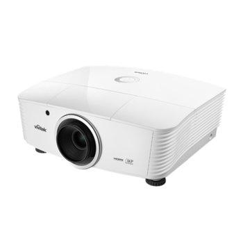 Проектор Vivitek DU5671, DLP, WUXGA (1920x1200), 2000:1, 6200 lm, 2x HDMI, 2x VGA, DVI-D, 2x RJ-45, USB, бял image