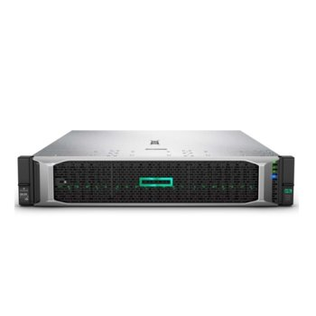 Сървър HPE DL385 G10 (878722-B21), 2x AMD EPYC 7451 2.3/3.2GHz, 64GB RDIMM DDR4, без твърд диск, 4x 1Gb, 5x USB 3.0, без ОС, 2x 800W image