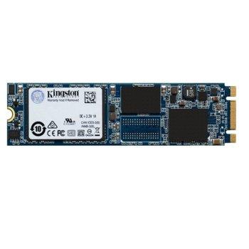 Памет SSD 120GB Kingston UV500, SATA 6Gb/s, M.2(2280), скорост на четене 520MB/s, скорост на запис 500MB/s image