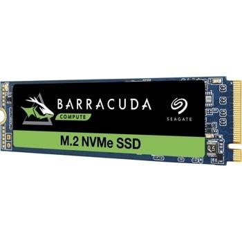 Памет SSD 500GB, Seagate BarraCuda 510 Series (ZP500CM3A001), PCIe NVMe, M.2 (2280), скорост на четене 3.400MB/s, скорост на запис 2400MB/s image