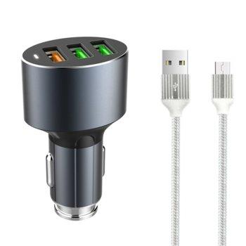 Зарядно устройство LDNIO C703Q сив 14752 product