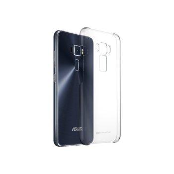 Калъф за Asus ZenFone 3, страничен протектор с гръб, пластмаса, Asus Clear Case ZE552KL, прозрачен image