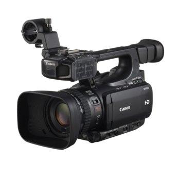 """Видеокамера Canon XF100, Full HD(до 50FPS), 3.5"""" (8.89 cm) LCD дисплей, 10x оптично увеличение, вграден микрофон, HDMI, USB, черна image"""