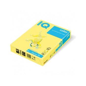 Хартия Mondi IQ Color YE23, A4, 80 g/m2, 500 листа, жълта image