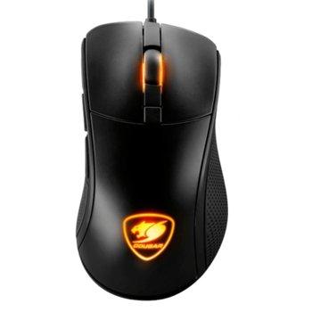 Мишка Cougar Surpassion, оптична (7200 dpi), USB, подсветка, геймърска, черна image