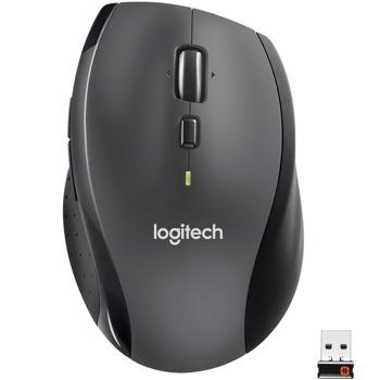 Мишка Logitech M705 Marathon V2, оптична (1000 dpi), безжична, USB, черна image
