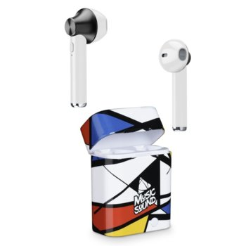 Слушалки Cellularline Music Sound (IT6227), безжични, микрофон, цветни image