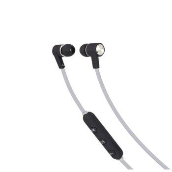 Слушалки Maxell B13-EB2, безжични, микрофон, Bluetooth, черни image