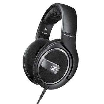 Слушалки Sennheiser HD 559, микрофон, 14-26000Нz честотен диапазон, 3 м ĸaбeл, черни image