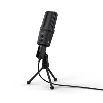 Микрофон Hama Stream 700 HD, 2.5 метра кабел, 3.5 жак, черен image