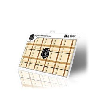 """Декорация /скин/ """"G-Cube GSP-19B"""" за лаптопи от 13"""" (33.02 cm) до 17"""" (43.18 cm) image"""
