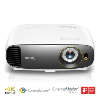 Проектор BenQ W1720, DLP, 4K/UHD (3840x2160), 10 000:1, 2000m, HDMI, VGA, USB image