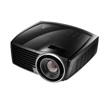 Проектор Vivitek H1188, DLP, 3D Ready, Full HD (1920x1080), 50000:1, 2000 lm, 2x HDMI, VGA, USB, черен image