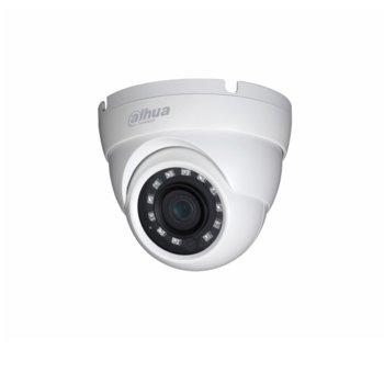 HDCVI камера Dahua HAC-HDW1230M-0360B, куполна камера, 2MPix(1920×1080@30fps), 3.6mm, IR осветеност (до 30 m), външна IP67 image
