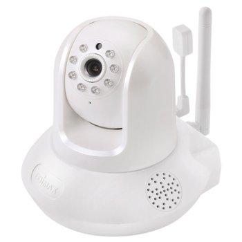 IP камера Edimax IC-7113W, Plug-n-View Smart HD Wi-Fi Pan/Tilt Network camera, IR осветление, wide F2.0 lens, H.264 & MJPEG, микрофон  image