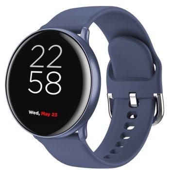 """Смарт часовник Canyon Marzipan SW-75 (CNS-SW75BL), 1.22"""" IPS дисплей, 150 mAh батерия, 6H твърдост на стъклото, Bluetooth v5.0, Wi-Fi, IP68, син image"""
