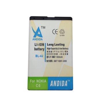 Battery Nokia C6 - 4J, 1650mAh/3.7V 03010124 product