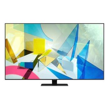 "Телевизор Samsung QE85Q80TATXXH, 75"" (190.5 cm) QLED HDR Smart TV, Ultra HD, DVB-T/C/S2(T2 Ready)x2, Wi-Fi, LAN, Bluetooth, 4x HDMI, 2x USB image"