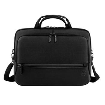 """Чанта за лаптоп Dell Pro Briefcase 15 (PO1520C), до 15.6"""" (39.6 cm), отделение за таблет, черна image"""