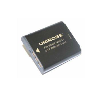 Батерия Cameron Sino за апарат SONY NP-BG1, DSC-H3, H7, H9, N1, N2, T20, T20HDPR, T25, T100, W30, W35, W40, W50, W55, W70, W80, W80HDPR, W90, W100, W200, LiIon 3.7V, 1000mAh image
